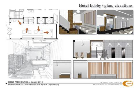 Presentation Interior Design by Design Presentation Wyndham Garden Hotel