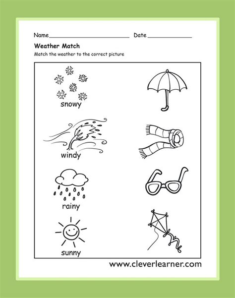 Weather Worksheets For Preschool best 25 weather worksheets ideas on weather 1