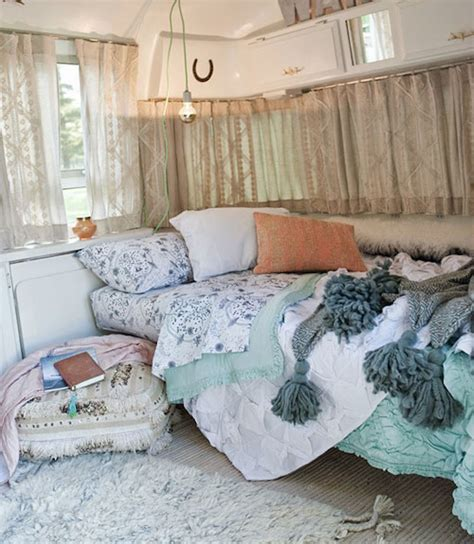 A That Turns Into A Bed by See This Vintage Airstream Transformed Into A Beautiful