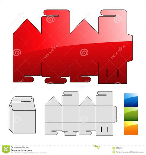 wrap puzzle template for box vector illustration