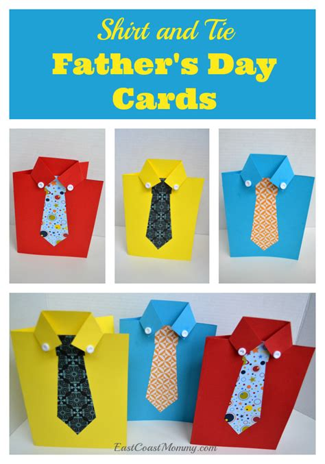 Day Shirt And Tie Card Template by East Coast Shirt And Tie S Day Card