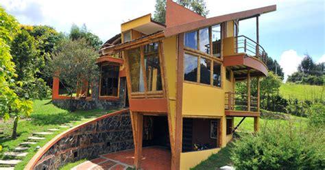 House Plans With Courtyard by Casa De Bamb 250 Guadua Santo 241 O Zuarq Arquitectos Arquimaster
