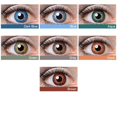 aqua contacts | www.pixshark.com images galleries with a