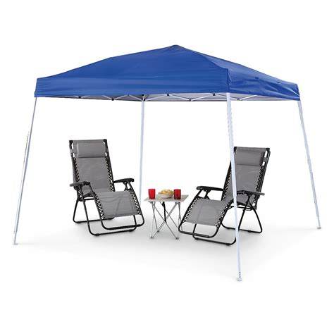 10 x 10 pop up instant canopy guide gear 10 x 10 instant pop up canopy 582106