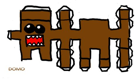 Domo Papercraft - domo papercraft pattern by mint13456 on deviantart