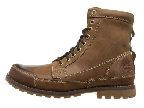 Timberland Boot Ring Brown Ujung Besi timberland earthkeepers 174 rugged original leather 6 quot boot in brown for lyst