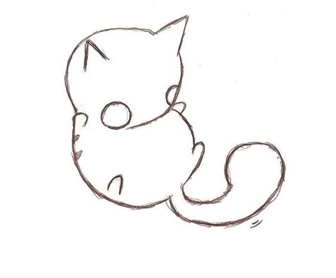 how to draw doodle cat 1 cat roll by sobreinsart on deviantart cats