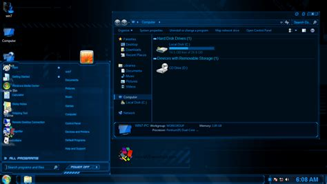 download theme windows 7 jarvis jarvis themepack for win7 8 8 1 skinpack customize