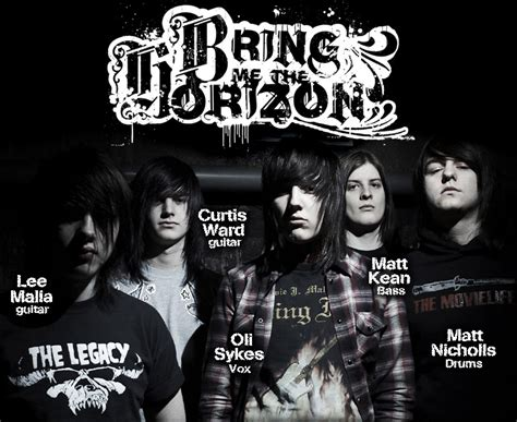 The Bedroom Hour Band Members Henri S 187 Bring Me The Horizon Bmth Random