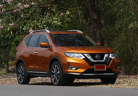 Nissan X Trail 2019 Review by Nissan X Trail Facelift 2019 Review Bangkok Post Auto