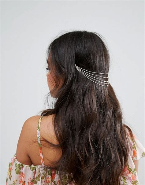 how to do crown layers asos asos layered chains back hair crown