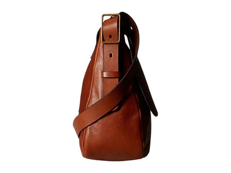 Tas Fossil Large Crossbody 2 fossil large saddle crossbody at zappos