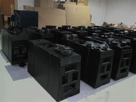 Patio Sound System Design by W8l Longbow Empty Line Array Speaker Line Array Design