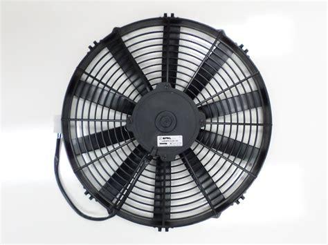 spal 14 electric fan fan spal 14 quot 24v puller ef3549 24v straight blade