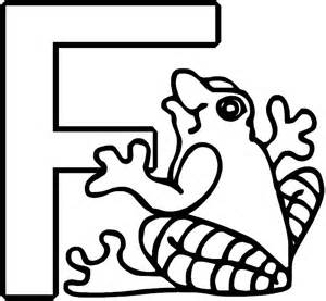 letter f coloring page letter f alphabet coloring page