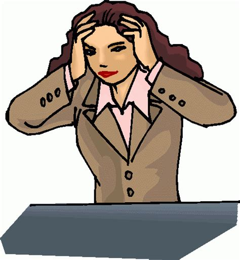 Stressed Clipart stressed pictures clipart best