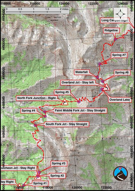 ruby map hiking ruby crest trail elko nevada road trip