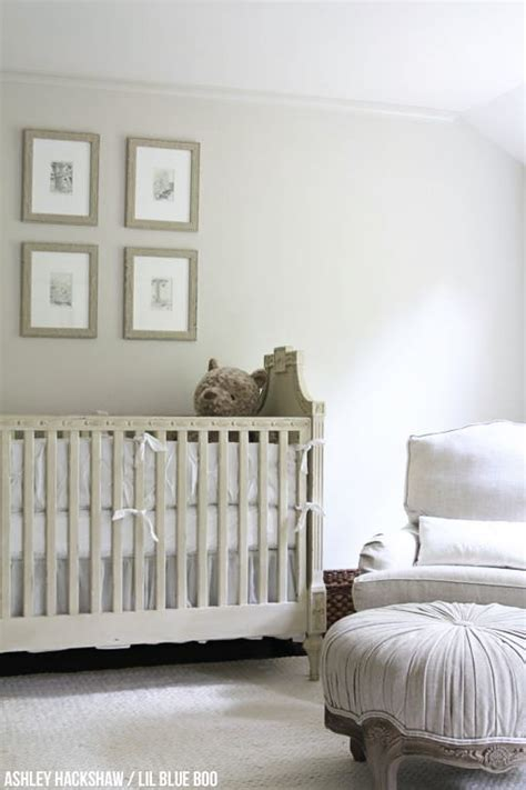 neutral nursery wall colors restoration hardware