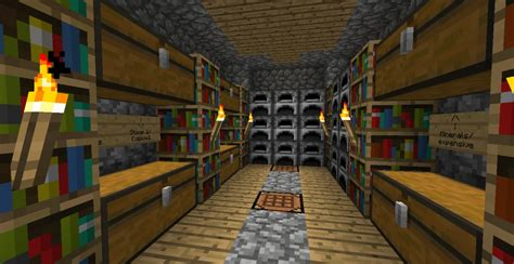 rooms in minecraft storage room idea minecraft project