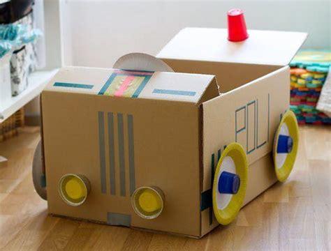 como hacer una pesera de carton muy bonita estupendos juguetes de cart 243 n que har 225 n divertirse y