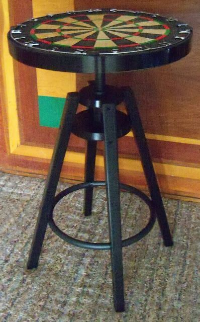 Bar Stool Hack by Hackers Instead Of The Dart Board Use Wood And
