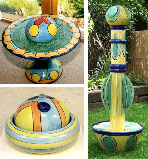 keramikbrunnen garten keramikbrunnen guido kratz
