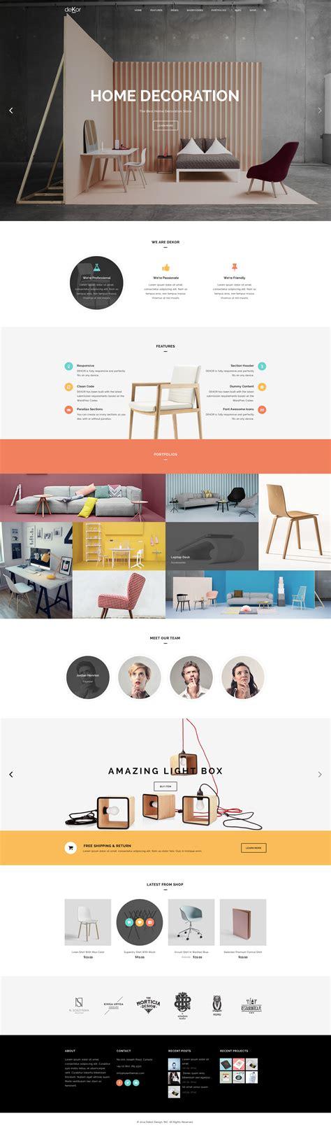 themeforest interior design interior design website templates themeforest