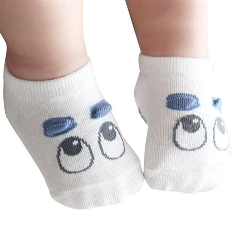 Baby Socks 1 pair newborn socks baby boy kid infant eye
