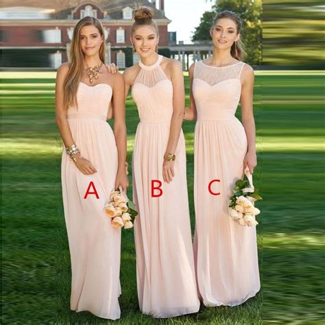 light pink dama dresses best 25 light pink bridesmaids ideas on pink