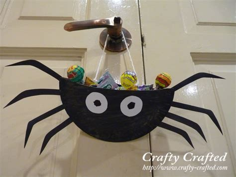 Paper Spider Craft - how to make paper crafts for