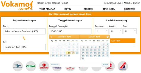 Tiket Promo Jakarta Bali Pp 4 kenapa harga tiket pesawat berubah ubah vokamo