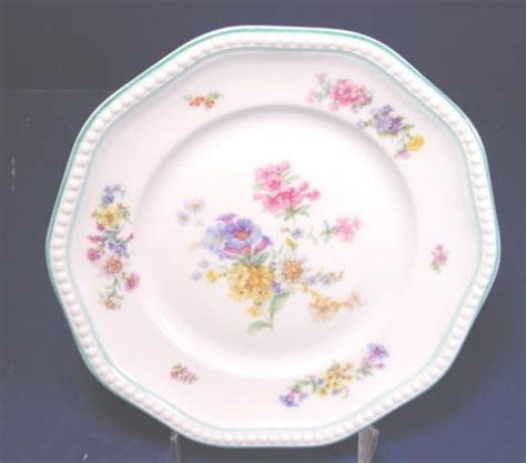rosenthal turquoise and yellow 8 5 inch dewdrop vase 56 rosenthal germany luncheon salad dessert china plate