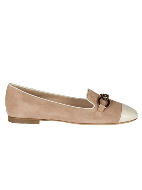 tods flat shoes tod s tod s buckled slippers cuoio s flat shoes