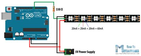 Addressable Led Controller Arduino - led wiring arduino wiring diagram