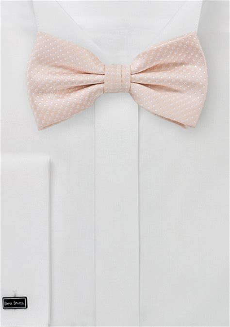 blush colored bow tie blush colored bow tie s solid color bowtie in blush pink