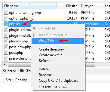 php date format php ini the uploaded file exceeds the upload max filesize
