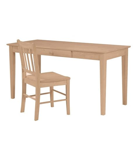 writing desk 60 x 60 inch shaker writing tables simply woods furniture