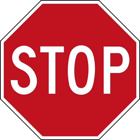 Stop With The by File Canada Stop Sign Svg