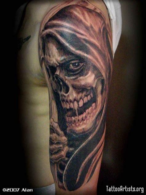 free grim reaper tattoo designs grim reaper tattoos grim reapercover up tattoos
