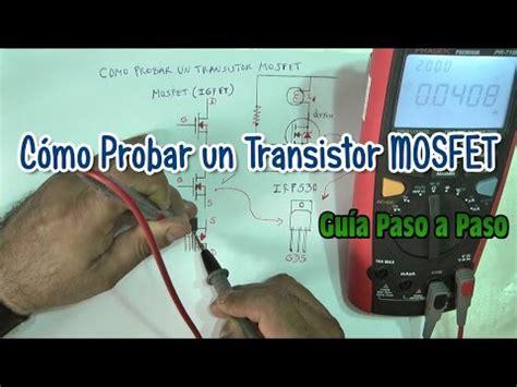 transistor darlington como probar como medir transistores mosfet facil y rapido funnydog tv