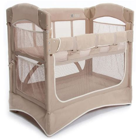 arm s reach mini arc classic co sleeper bedside bassinet