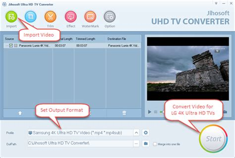 file format to play video on tv how to play video on lg ultra hd 4k tv