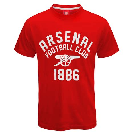 T Shirt One Graphic 2 arsenal fc official football gift mens graphic t shirt ebay