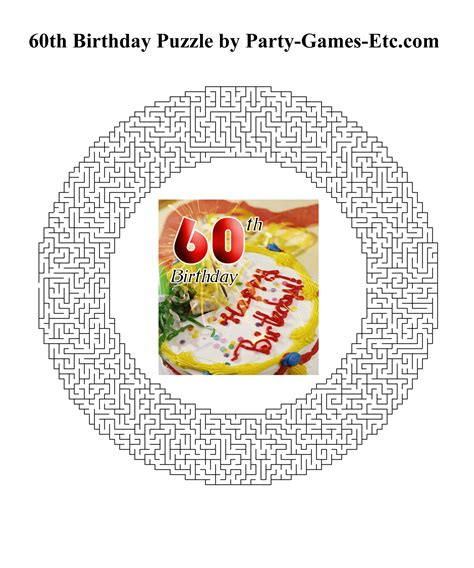 printable 60th birthday decorations 60th birthday party games free printable games and