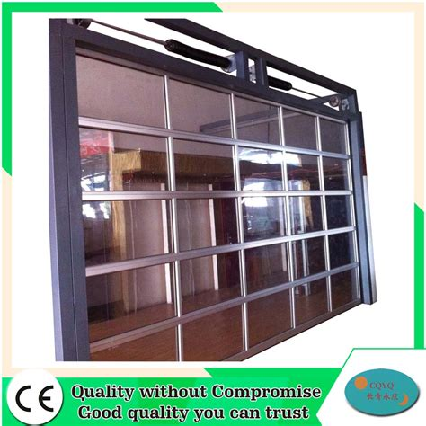 aluminum view glass garage doors prices buy