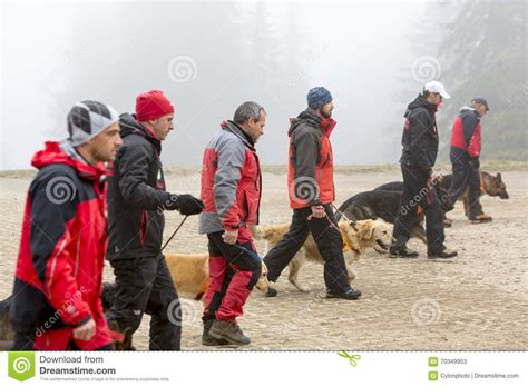 Cross Search Cross Search And Rescue Team Editorial Photo Cartoondealer 70349953