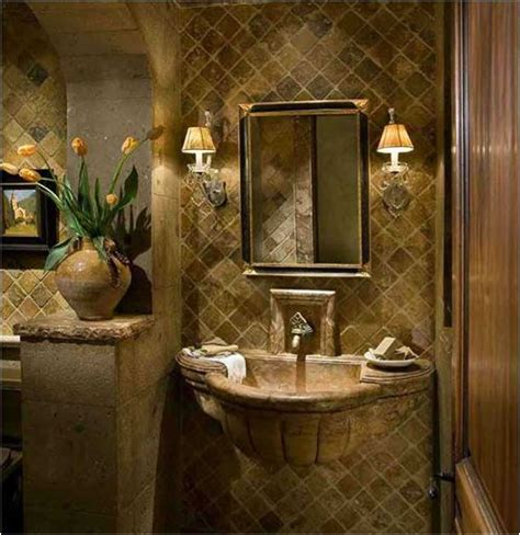old world bathroom design tuscan bathroom love the stone sink old world