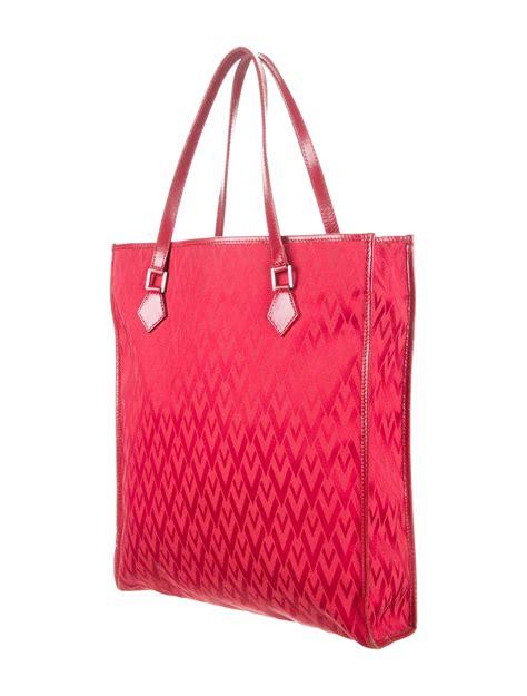 valentino monogram canvas tote handbags val
