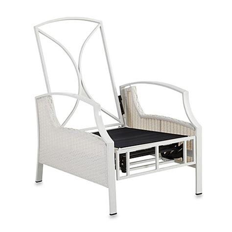 stratford recliner mix match stratford wicker recliner frame