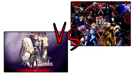 fate anime series plot jaded perspectives fate zero vs fate stay a